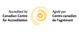 Accredited by Canadian Centre for Accreditation